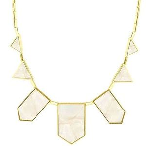 🆕House of Harlow Station Necklace Mother of Pearl